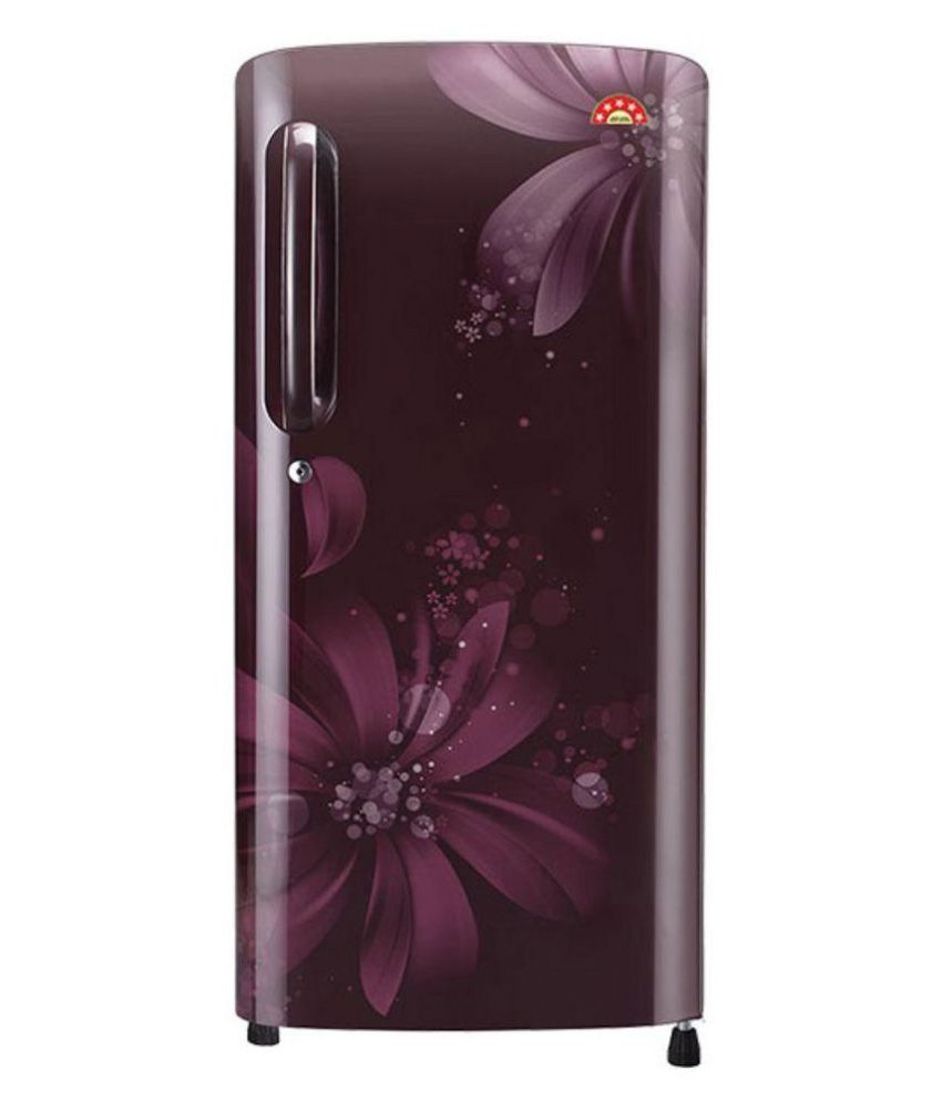 LG 215 LG FRIDGE DC GL-B221ASAN Direct Cool Single Door Refrigerator Purple