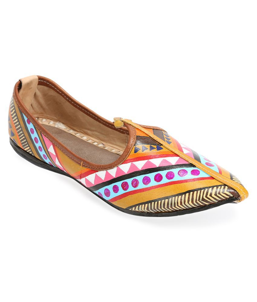 Rang Rage Multi Color Flats