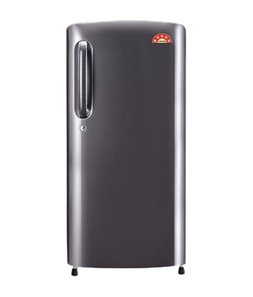 LG 215 Ltrs GL-B221ATNN Direct Cool Single Door Refrigerator Titanium