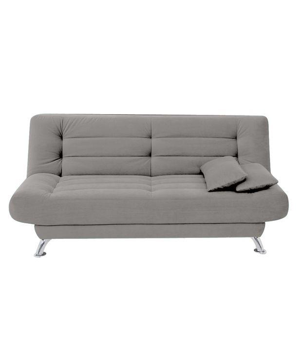 FabHomeDecor Alifa Fabric Sofa Cum Bed
