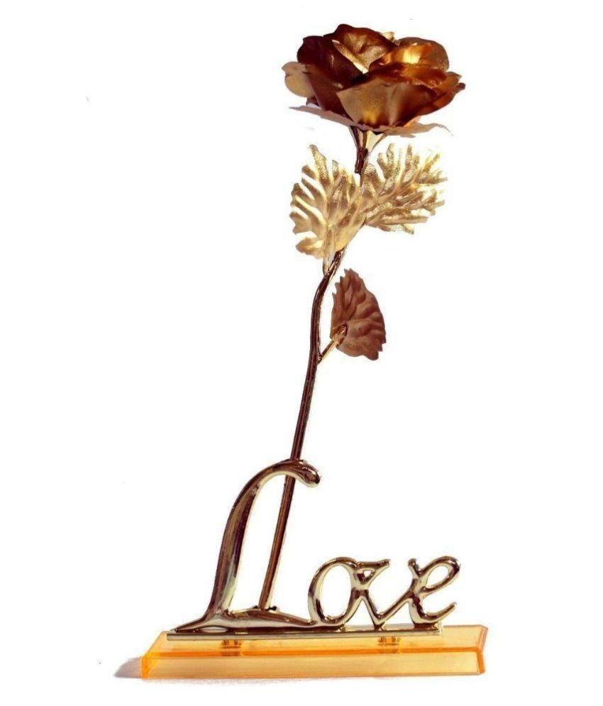 Rrammg Enterprises Sdl680989589599 Golden Rose Love Valentine Gift