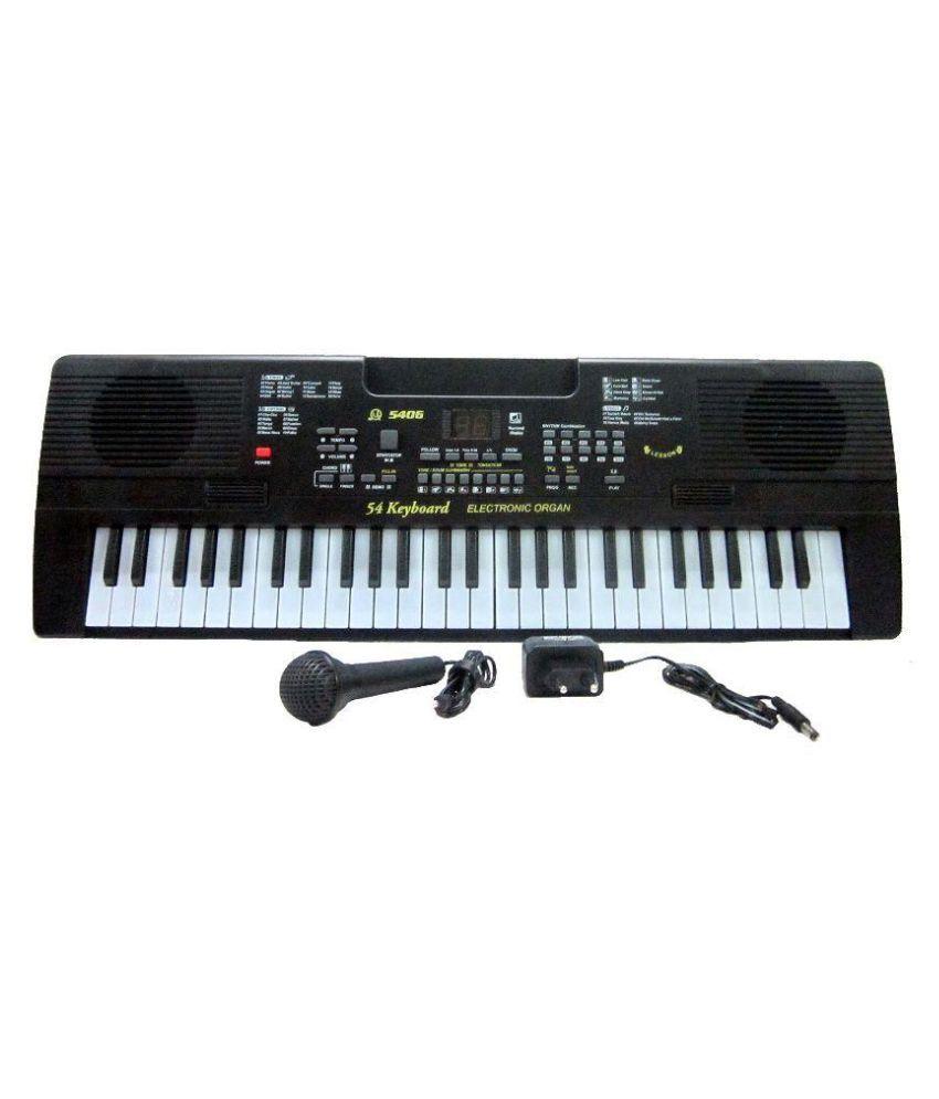 V T  54-Keys Electronic Piano with Adapter Keyboard 54 Keys