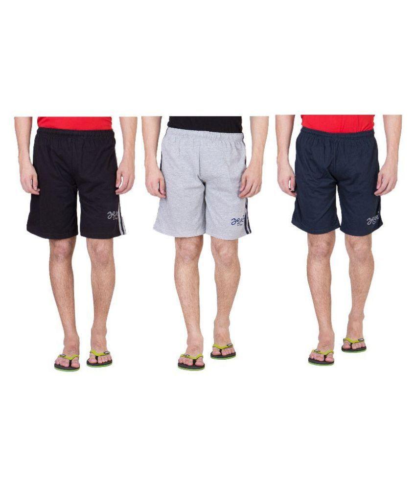 Zeki Multi Shorts Pack of 3