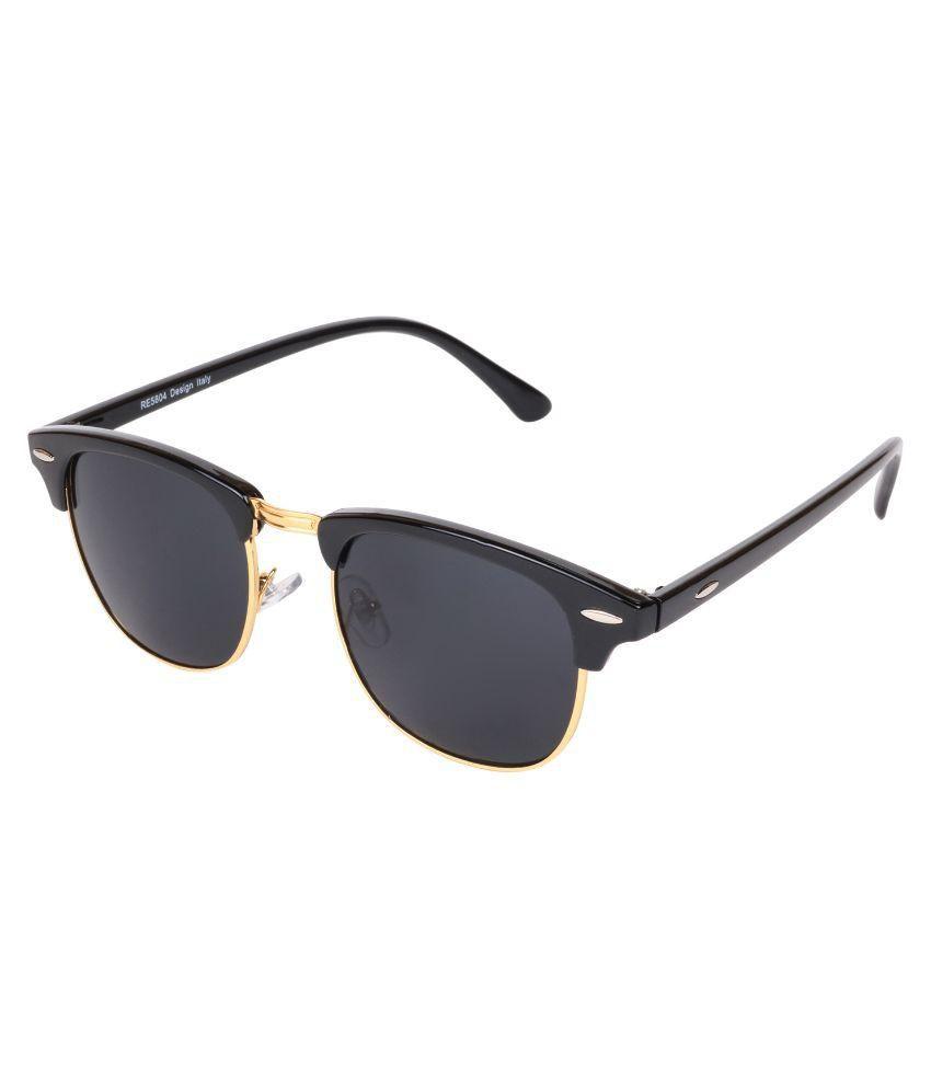 70e8decc16 Aligatorr Black Clubmaster Sunglasses ( 7481 ) - Buy Aligatorr Black  Clubmaster Sunglasses ( 7481 ) Online at Low Price - Snapdeal