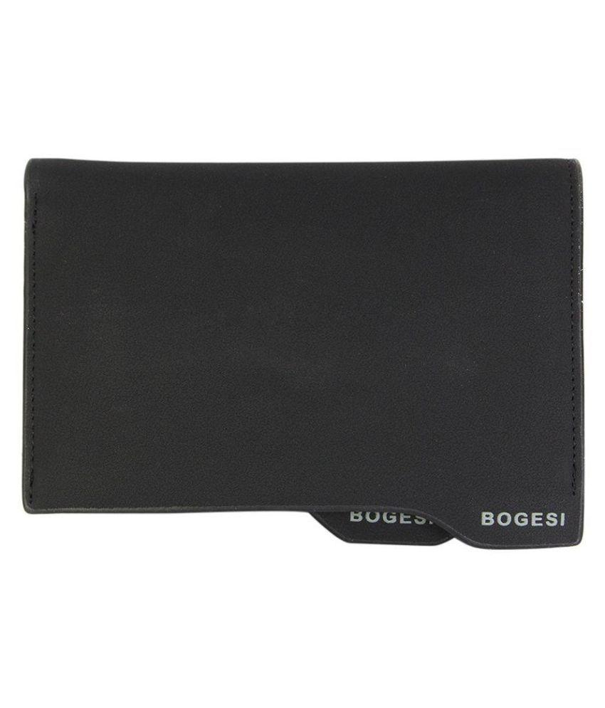 Bogesi Black Non Leather Belt for Men