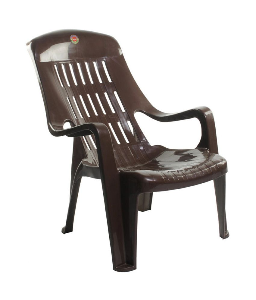 Cello Comfort Sit Back Plastic Chair Set Of 2