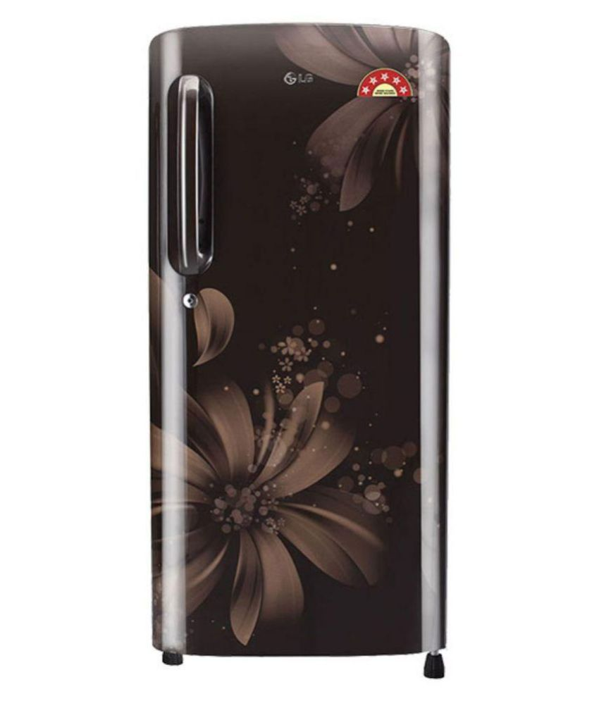 LG 215 Ltr 5 Star GL-B221AHAN Single Door Refrigerator - Hazel Aster