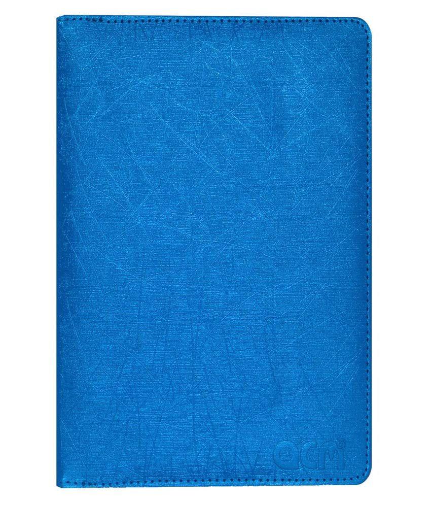 ACM Rotating Flip Cover for Samsung Galaxy Tab A T355y - Blue