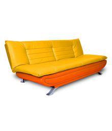 Elite Solid Wood 3 Seater Sofa Cum Bed