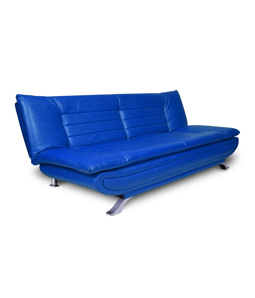 Elite solid wood 3 seater sofa cum bed buy elite solid for Let out sofa bed