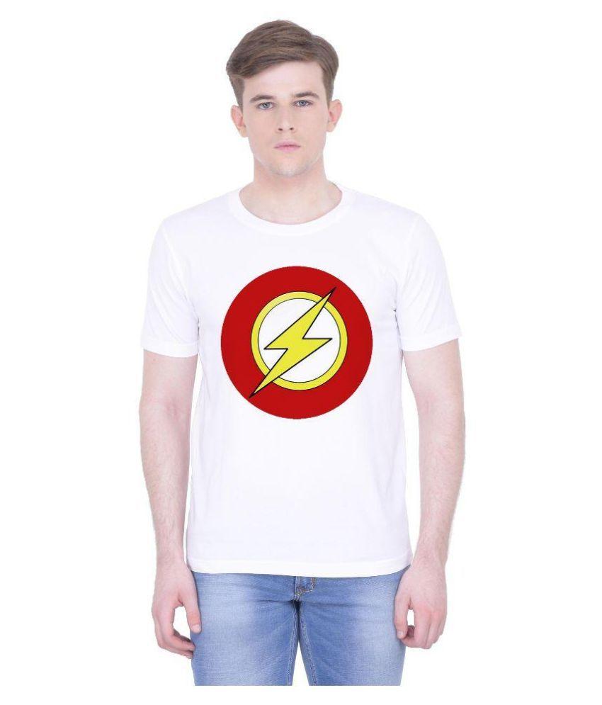 Voguestyle White Round T Shirt