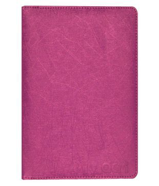 ACM Rotating Flip Cover for iBall Slide Q900 C   Pink available at SnapDeal for Rs.339