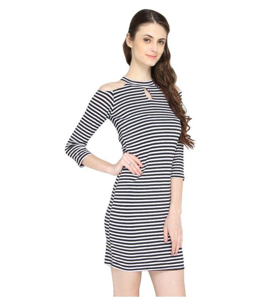 La Zoya Multi Color Polyester Dresses - Buy La Zoya Multi ...
