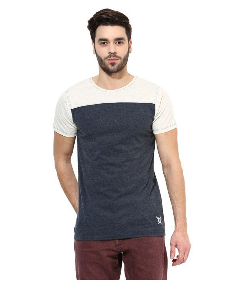 Monteil & Munero Grey Round T Shirt