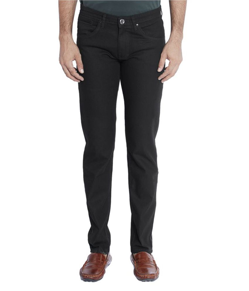Park Avenue Black Relaxed Solid