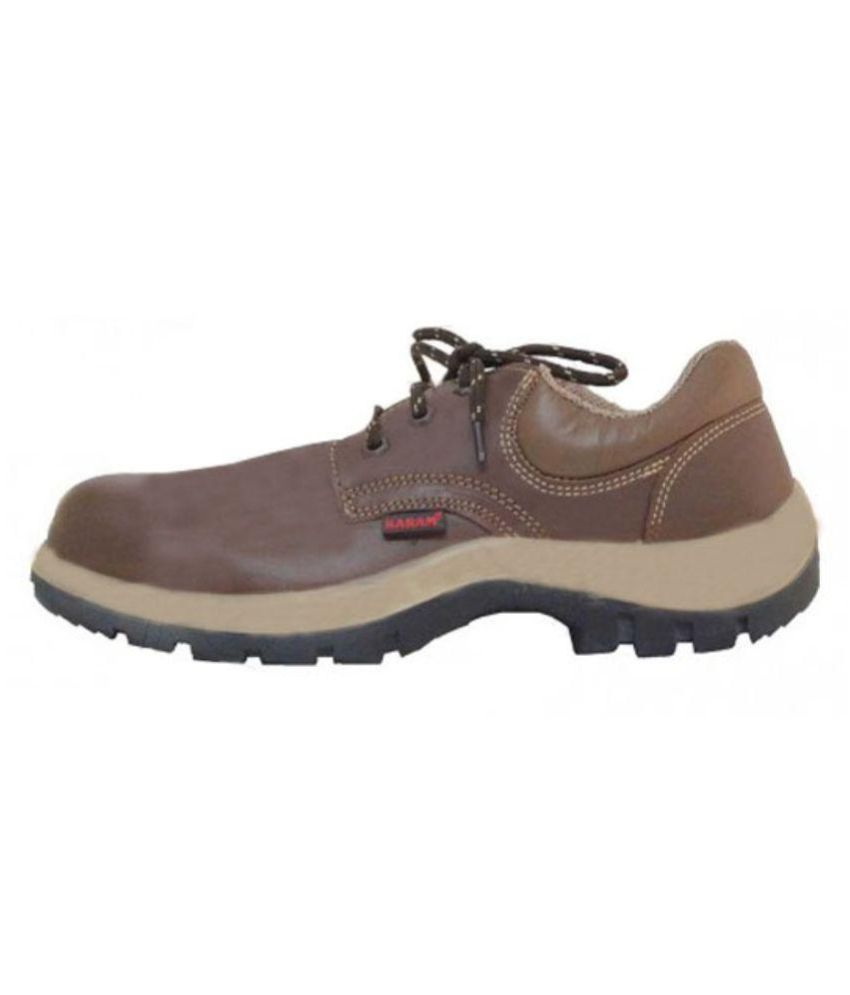 Karam Brown Safety Shoe available at SnapDeal for Rs.3388