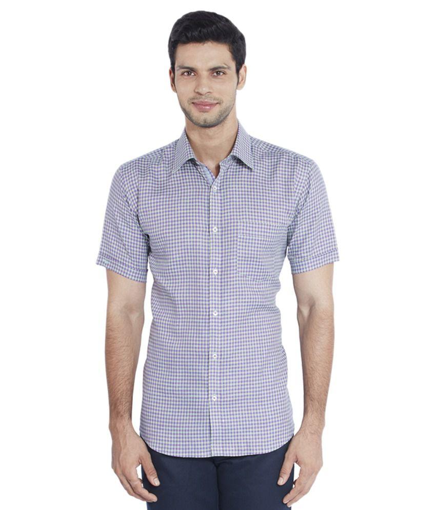 Park avenue multi formal slim fit shirt buy park avenue for Trim fit tuxedo shirt