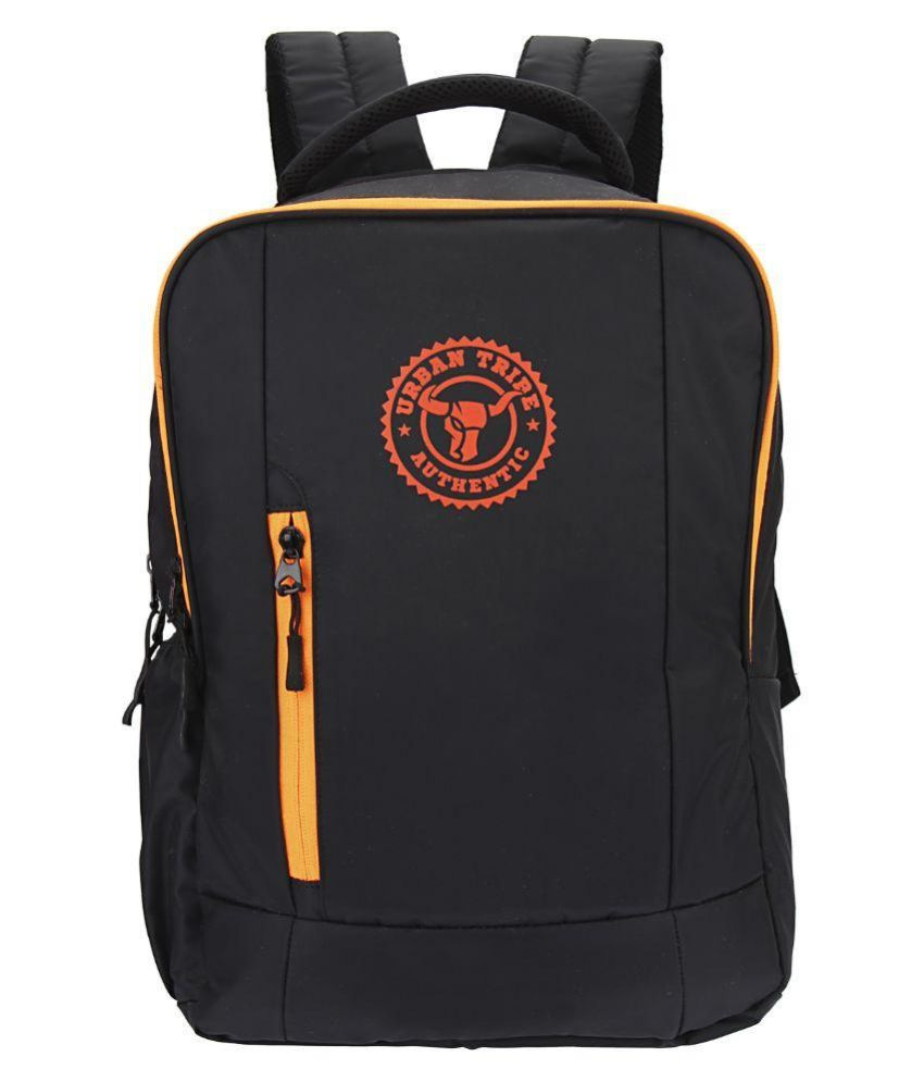 Urban Tribe Boxer Black 20 Liter Polyester Casual Backpack