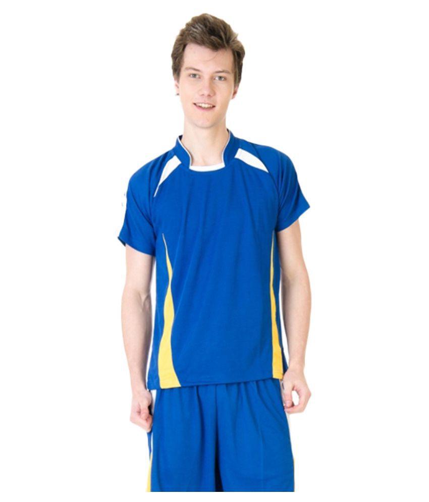 VDG Blue Polyester T-Shirt