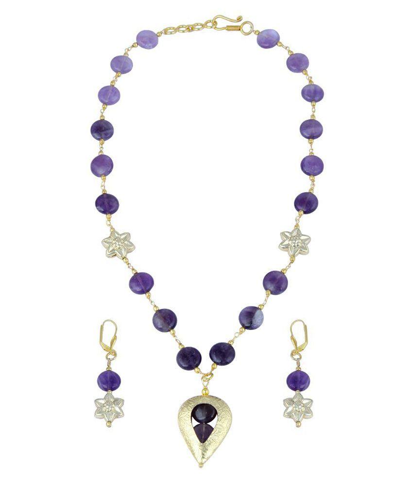 Pearlz Ocean Multicolor Necklace Set