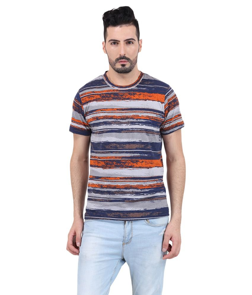 Mod Pluss Multi Round T Shirt