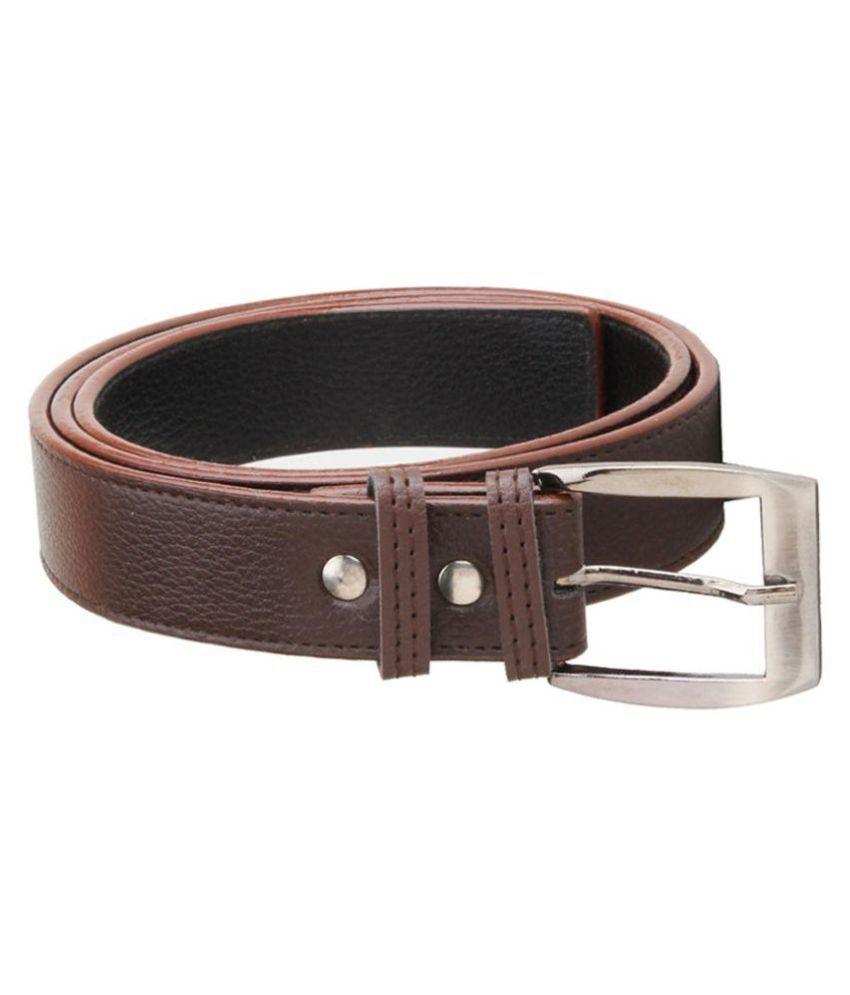 Kesari Brown Leather Belt for Men
