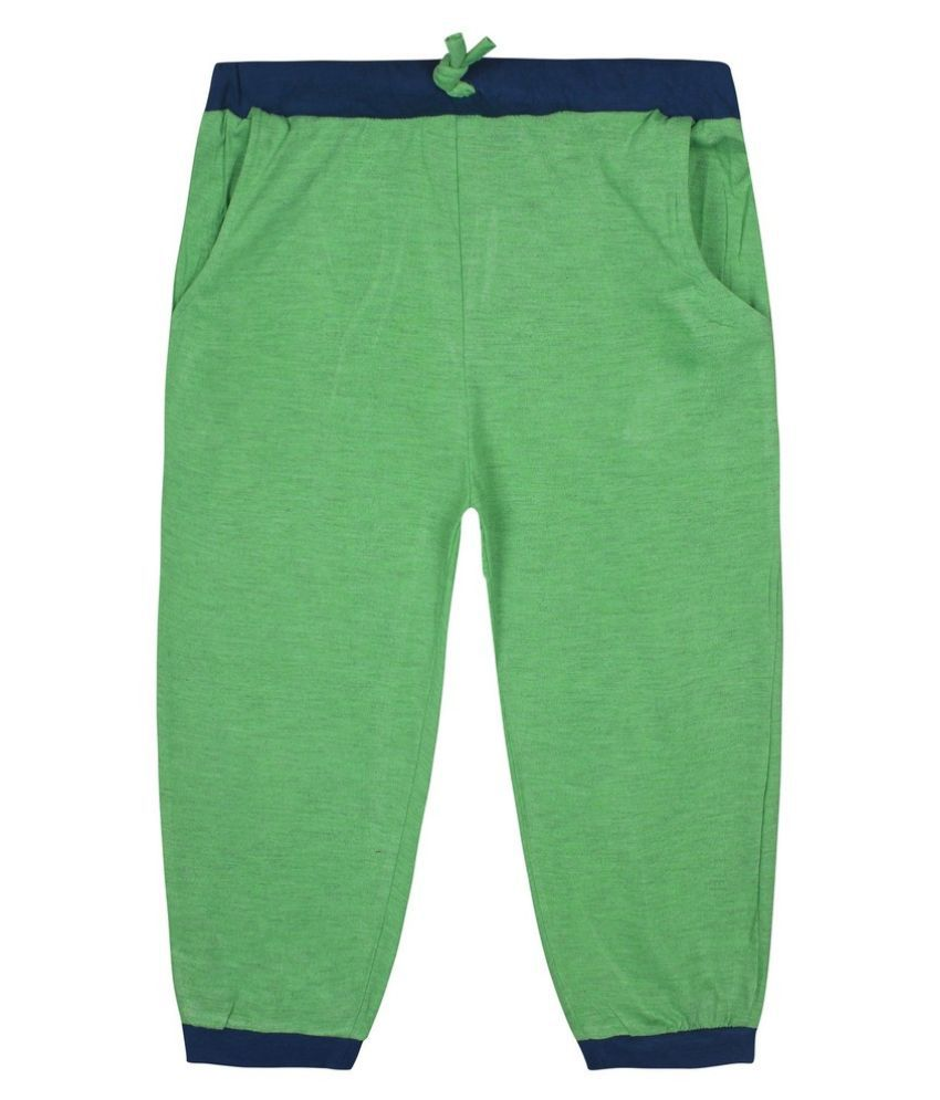 JAZZUP Green Capris For Girls
