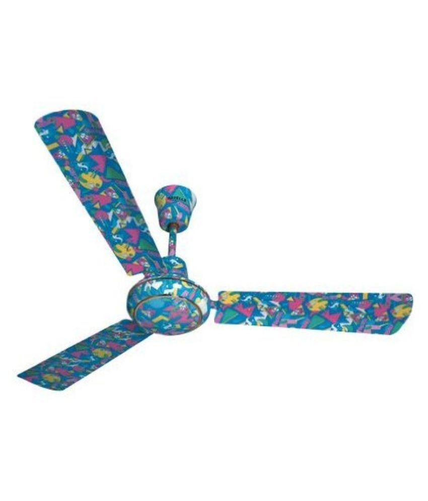 Havells 1200 Candy Ceiling Fan Blue Available At SnapDeal
