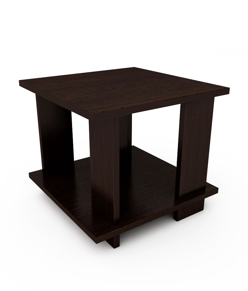 Unicos Picadily End Table In Midnight Oak