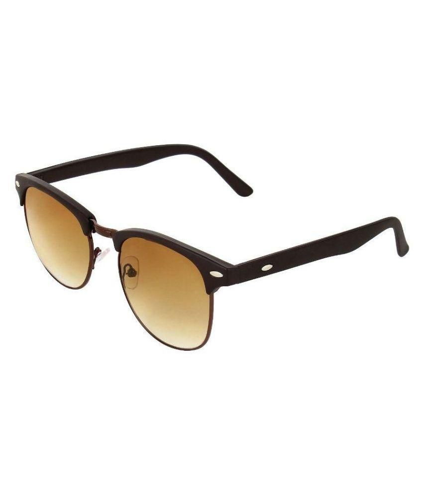 Whay Golden Oval Sunglasses ( WS035 )