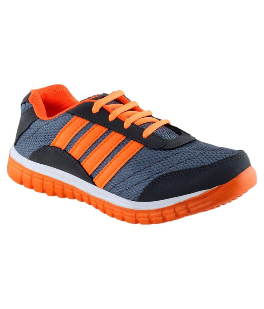 lancer orange running sports shoes price in india buy