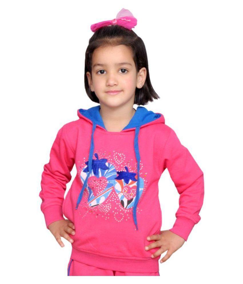 Shaun Pink Wollen Sweatshirt