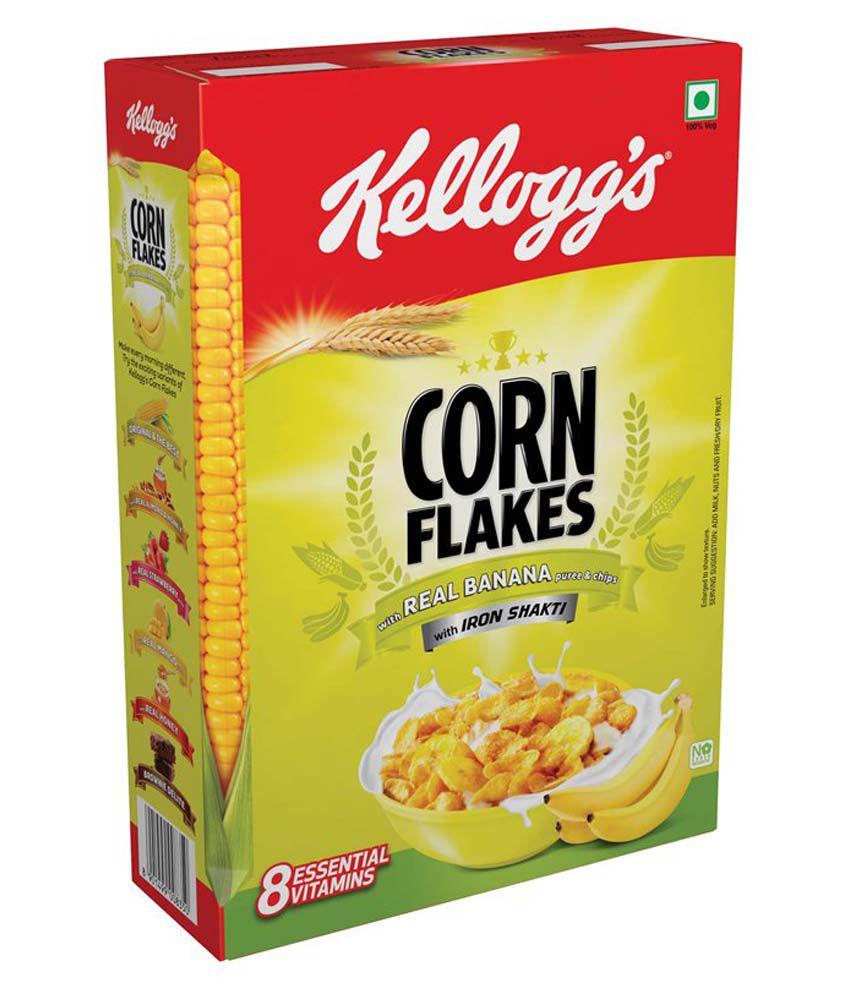Kelloggs Banana Corn Flakes 300 G: Buy Kelloggs Banana
