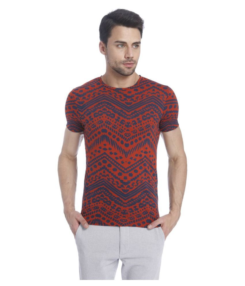 Jack & Jones Multi Round T Shirt
