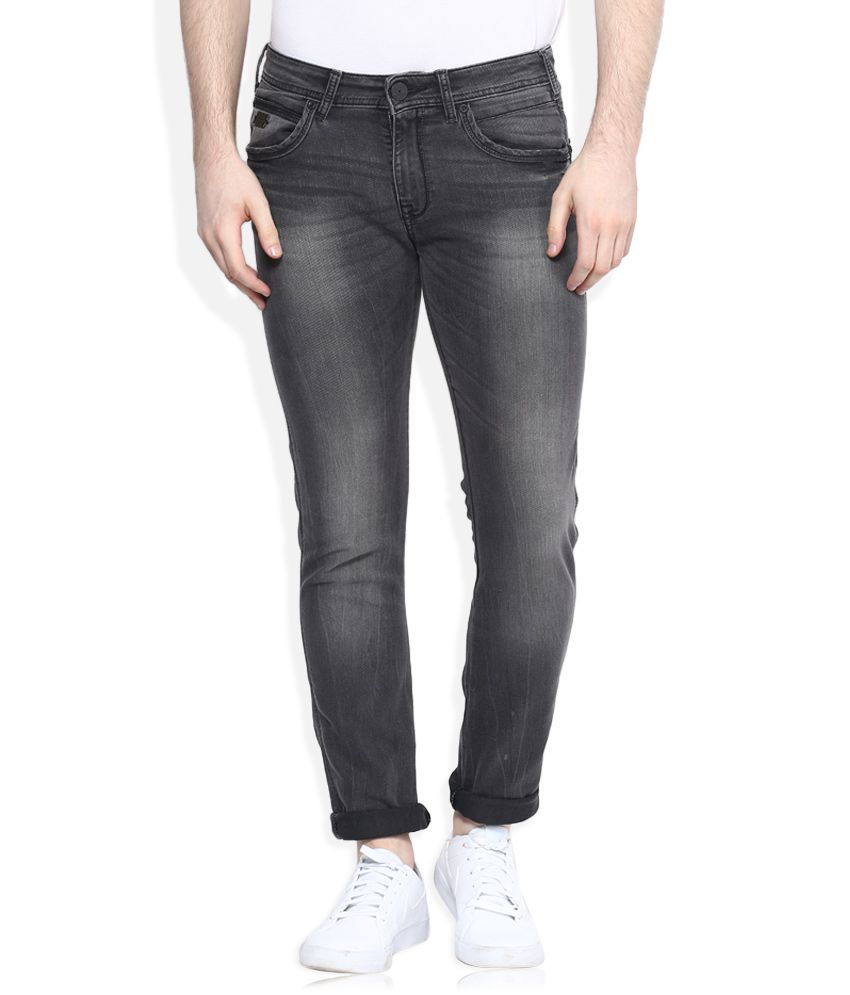 Wrangler Black Vegas Skinny Fit Jeans