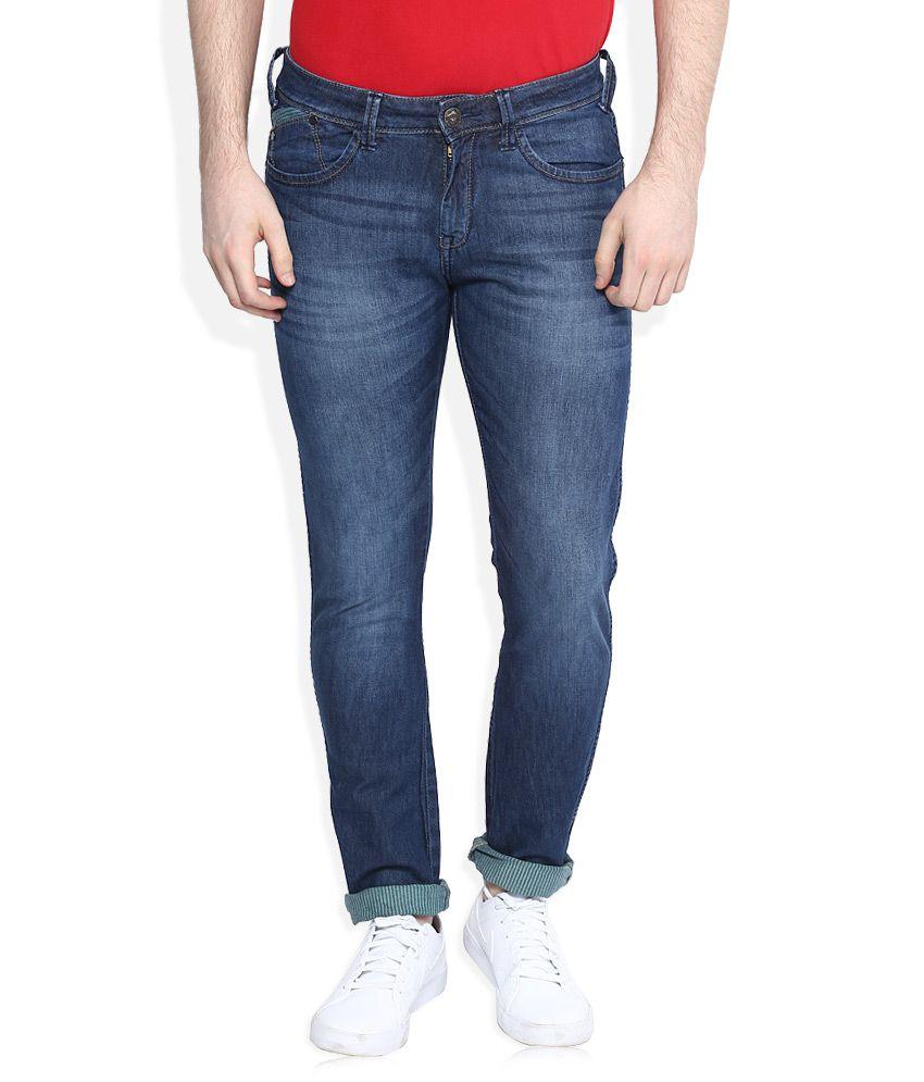 Wrangler Blue Vegas Skinny Fit Jeans