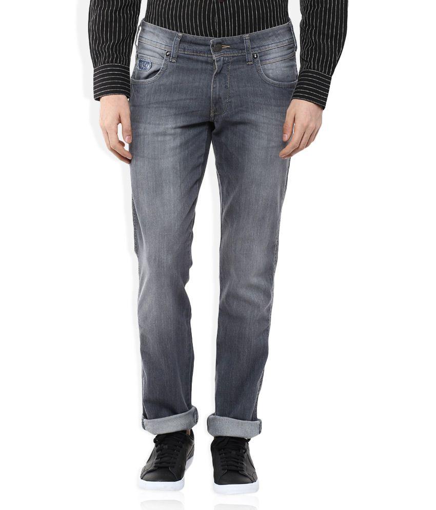 Wrangler Grey Rockville Regular Fit Jeans