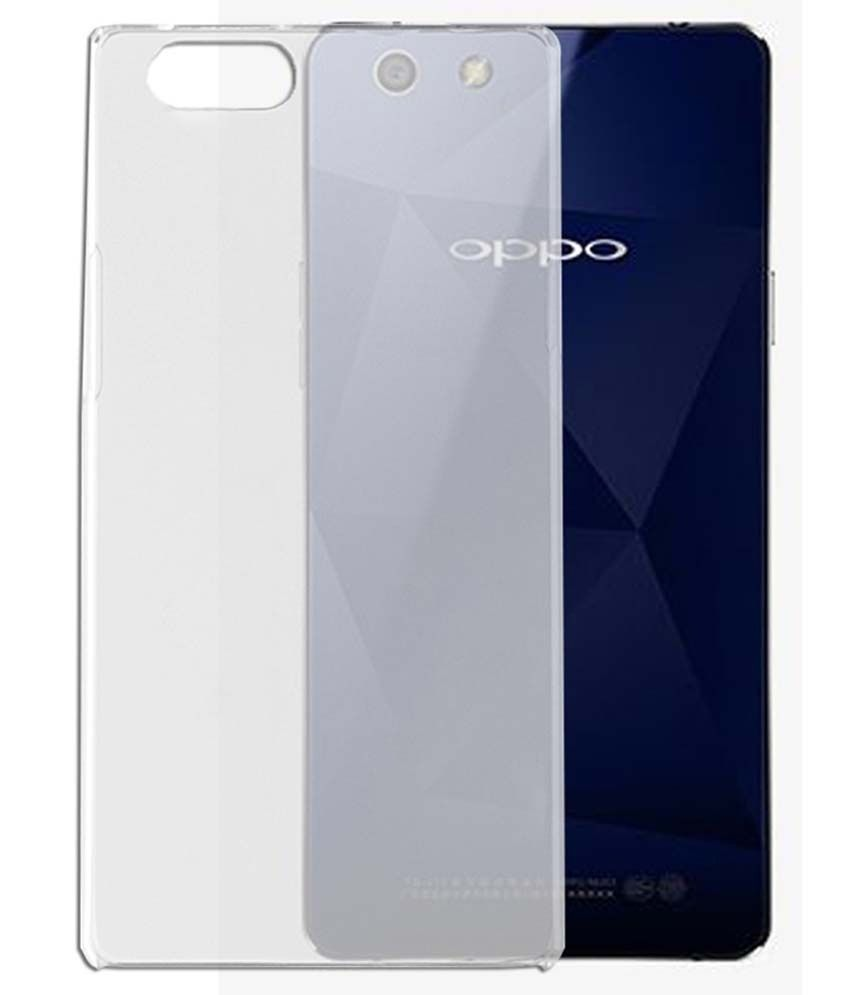 cheap for discount d8f68 6224b Oppo A51W Transparent Back cover - Plain Back Covers Online at Low ...