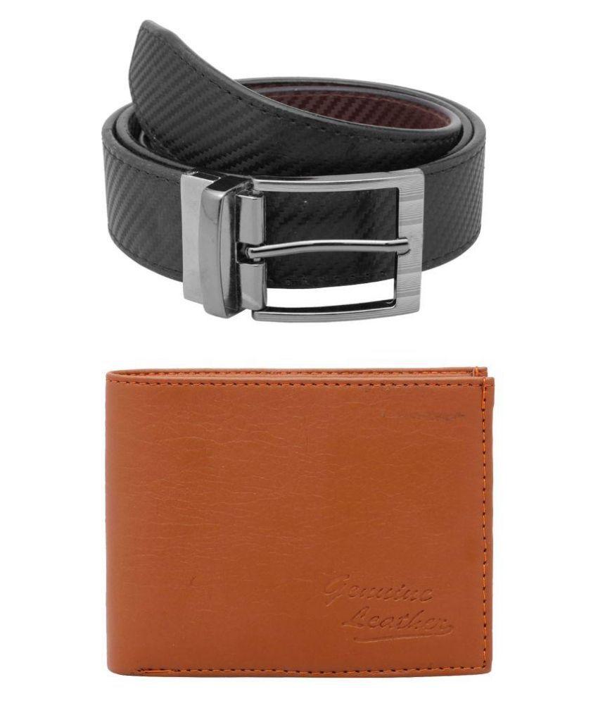 FSM Facinate Black Belt with Wallet