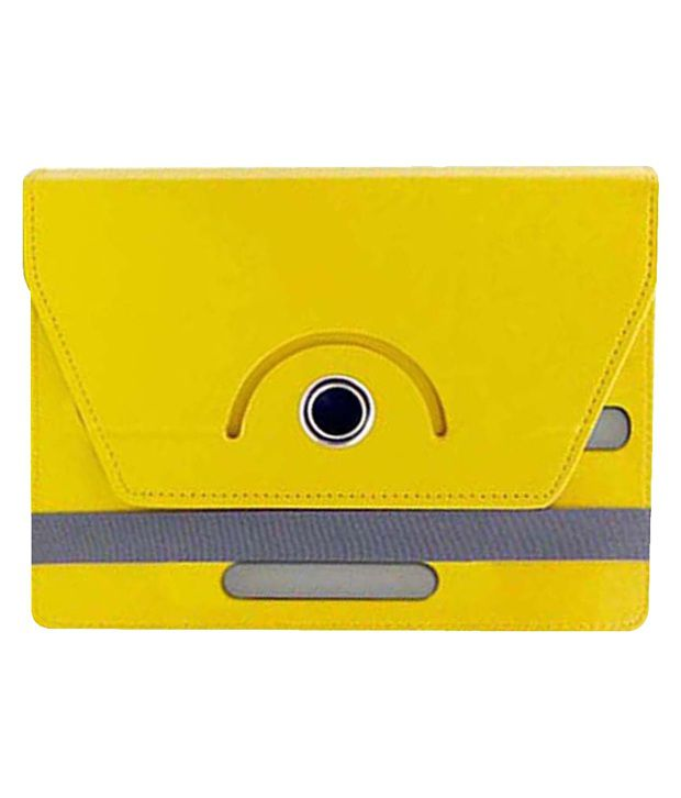 Corcepts Rotating Flip Cover for Lenovo IdeaTab A1000 - Yellow