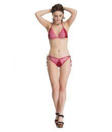 Melisa Pink Poly Lycra Bikini