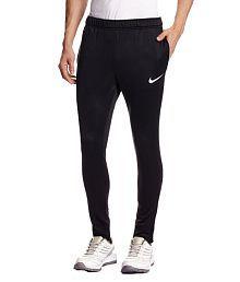 Nike Black Polyester Trackpant   Track Pant 80f48e7e37