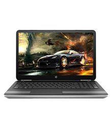 HP Pavilion 15-AU003TX Notebook (W6T16PA) (6th Gen Intel Core i5- 8GB RAM- 1TB HDD- 39.62 cm (15.6)- Windows 10- 2GB Graphics) (Silver)