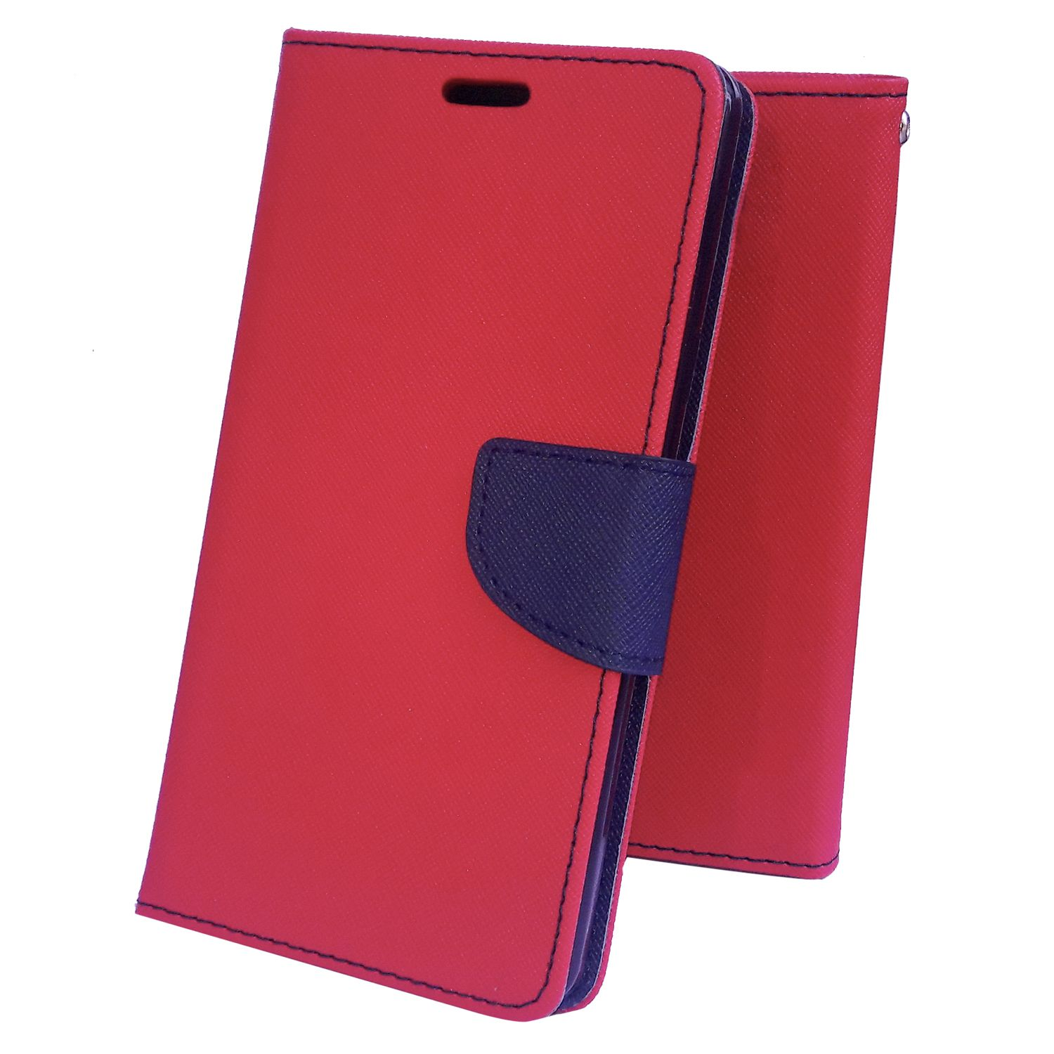 Moblo Flip cover(Red)  For LG G3