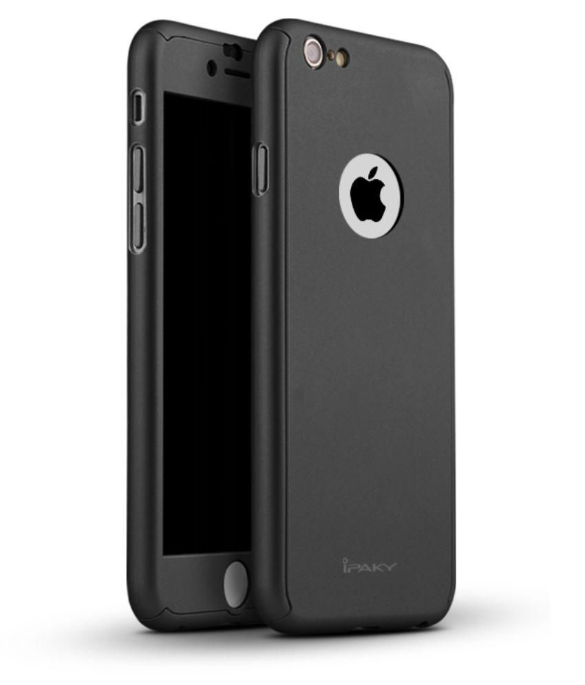 premium selection 68f57 ffe67 Techjunkie iPhone 6 & 6s 360 Degree Full Protection Case with Tempered Glass