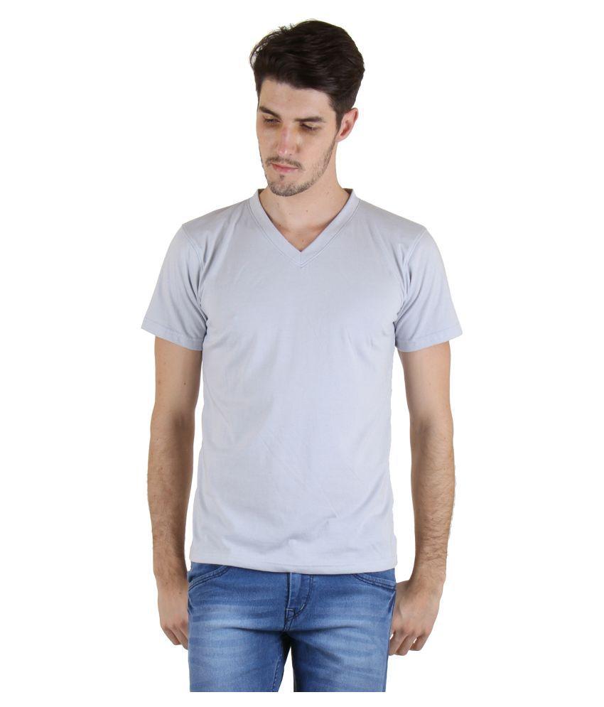 Incynk Grey V-Neck T Shirt
