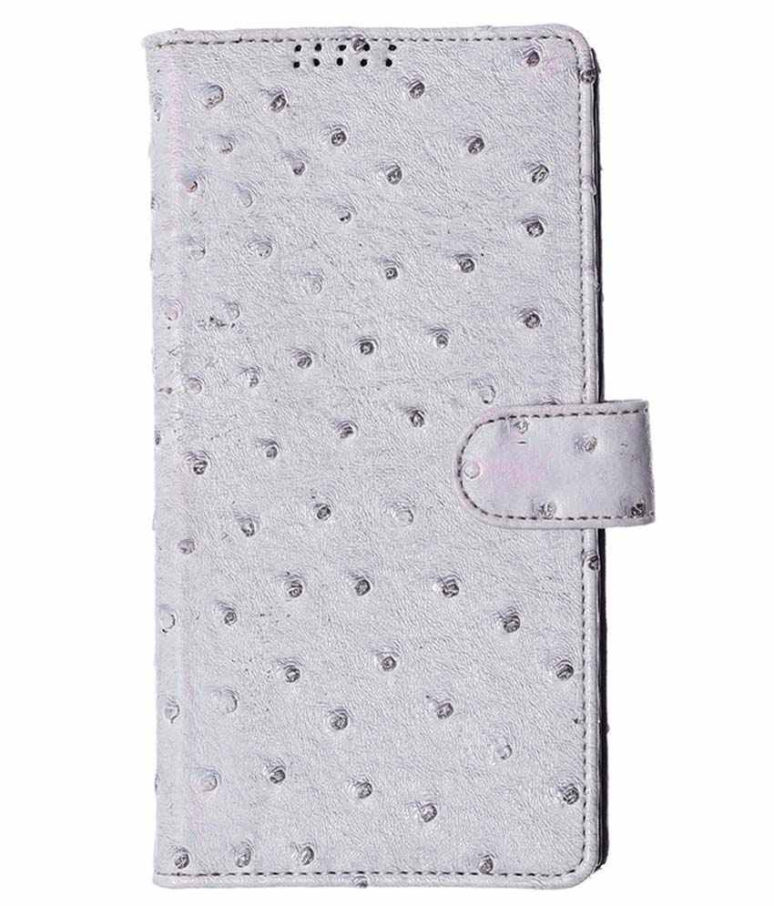 Sony Xperia C Flip Cover by 99 Mapple - White