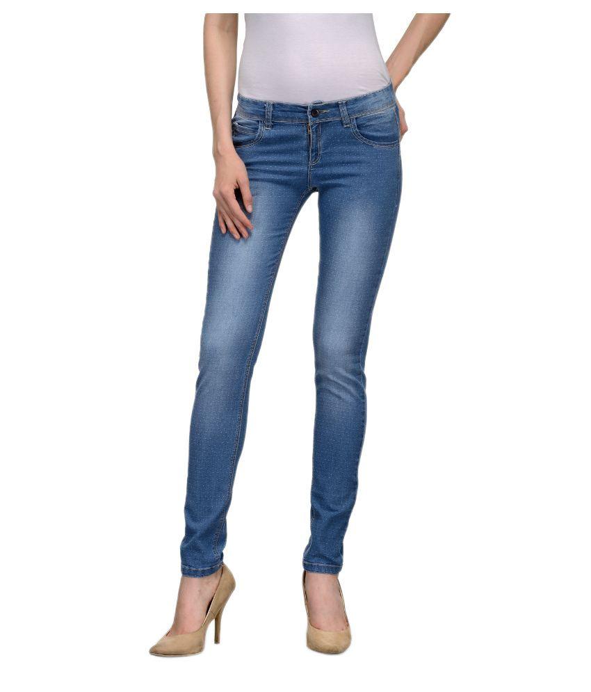 Being Fab Blue Jeans Regular