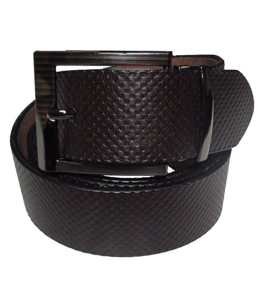 TSI Brown Leather Belt