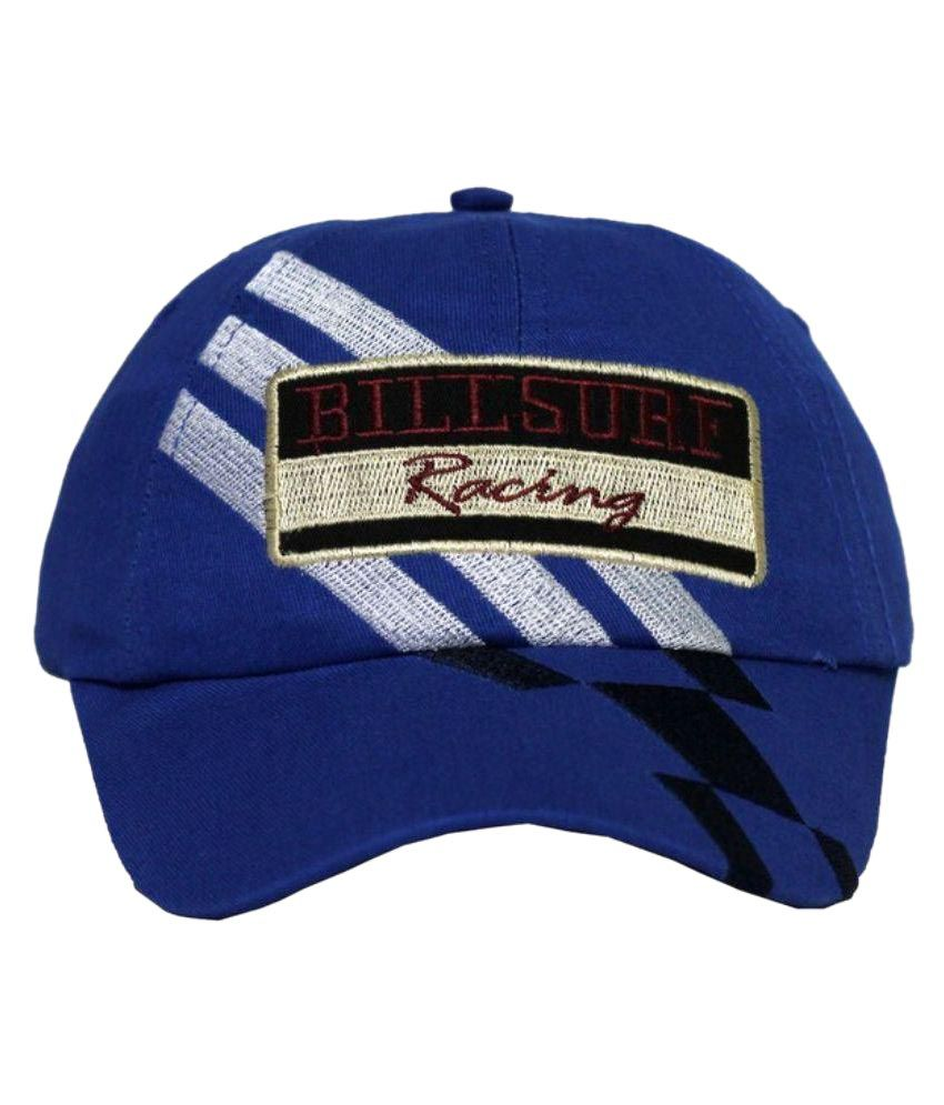 Wild And Wacky Blue Cotton Cap for Men